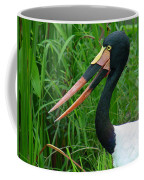 Saddle Billed Stork-00139 Coffee Mug