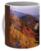 Saddle Mountain Autumn-sq Coffee Mug