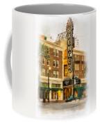 Saenger Theatre New Orleans Paint 2 Coffee Mug