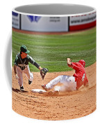 Safe At Second Coffee Mug by Bob Hislop