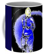 Safe Blue Woman Coffee Mug