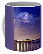 Safety Harbor Pier Illuminated Coffee Mug