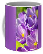 Saffron Flowers. Coffee Mug