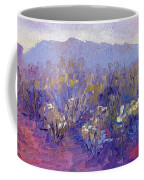 Sage Brush In Winter Light Coffee Mug