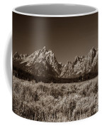 Sagebrush And Tetons Coffee Mug