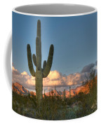 Saguaro At Sunset Coffee Mug