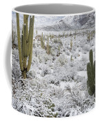 Saguaro Cacti After Rare Desert Coffee Mug