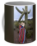 Saguaro Cactus The Visitor 1 Coffee Mug