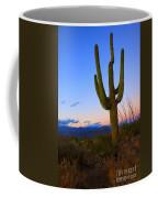 Saguaro Dusk Coffee Mug by Mike  Dawson