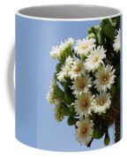 Saguaro In Bloom In The Superstition Mountains Coffee Mug