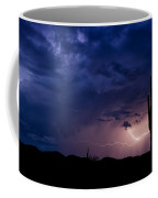 Saguaro Lightning  Coffee Mug