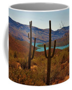 Saguaros In Arizona Coffee Mug