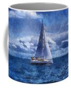 Sail Boat Photo Art 02 Coffee Mug