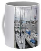 Sail Boats Docked For The Night Coffee Mug