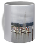Sail Boats Waiting For Their Captains Coffee Mug