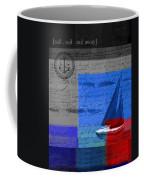 Sail Sail Sail Away - J179176137-01 Coffee Mug by Variance Collections