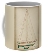 Sailboat 42 Coffee Mug