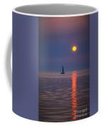 Sailboat At Sunrise Coffee Mug