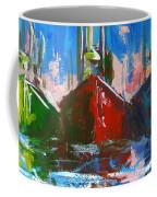 Sailboat Coffee Mug by Patricia Awapara