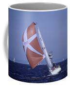 Sailboat Race On Puget Sound Coffee Mug