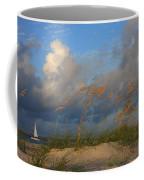 Sailboat Wrightsville Beach North Carolina  Coffee Mug
