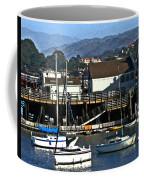 Sailboats Anchored At Mooring Coffee Mug