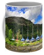 Sailboats At Glenridding In The Lake District Coffee Mug