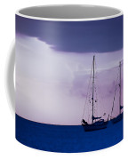 Sailboats At Sunset Coffee Mug