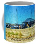 Sailboats Boat Harbor - Quiet Day At The Harbor Coffee Mug