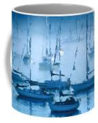 Sailboats In The Fog II Coffee Mug