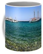 Sailboats On The Water Coffee Mug