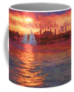 Sailboatsunset Coffee Mug