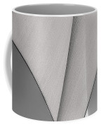 Sailcloth Abstract Number 3 Coffee Mug by Bob Orsillo