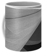 Sailcloth Abstract Number 9 Coffee Mug by Bob Orsillo