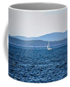 Sailing Amidst The Buoys Coffee Mug