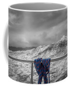 Sailing Around South West Cape Of Tasmania Coffee Mug