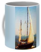 Sailing At Daytona Coffee Mug