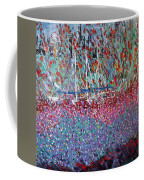 Sailing Among The Flowers Coffee Mug