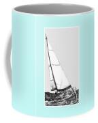 Sailing Freedom On A Reach Coffee Mug