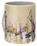 Sailing Boats At Les Sables D Olonne  Coffee Mug