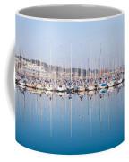 Sailing Boats In The Howth Marina Coffee Mug