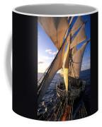 Sailing Boats Kruzenshtern Coffee Mug by Anonymous