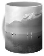 Sailing Boats On Como Lake Coffee Mug