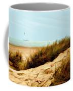 Sailing By Sand Dune Coffee Mug