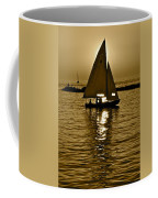 Sailing In Sepia Coffee Mug