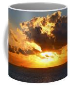 Sailing Into The Sunrise Coffee Mug
