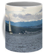 Sailing Lake Taupo Coffee Mug