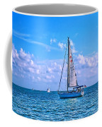 Sailing Off Of Key Largo Coffee Mug