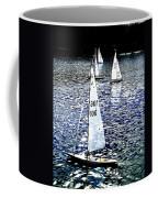 Sailing On Blue Coffee Mug