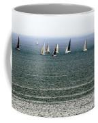 Sailing On Lake Erie Coffee Mug
